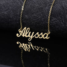 Load image into Gallery viewer, Custom Name Necklace