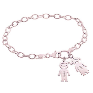 Bracelet with Kids Pendants