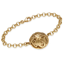 Load image into Gallery viewer, Contoured Monogram Bracelet