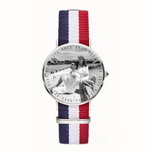 Load image into Gallery viewer, Custom Photo Watch Senior woven fabric