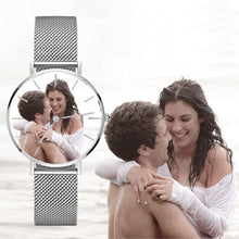 Load image into Gallery viewer, Custom Photo Watch Senior Stainless Steel