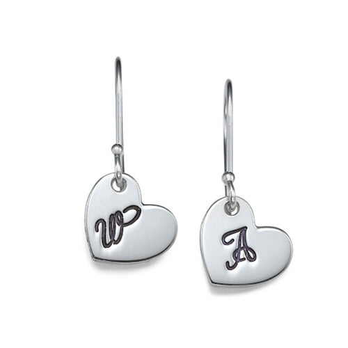 High Quality Acrylic Monogram Earrings