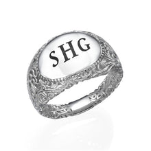 Load image into Gallery viewer, Filigree Signet Ring