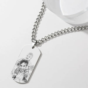 Personalized Photo Necklace