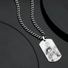 Load image into Gallery viewer, Personalized Photo Necklace