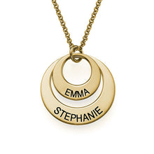 Load image into Gallery viewer, Personalized Jewelry for Moms Disc Necklace