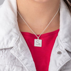 Scrabble Necklace Gift for your Baby
