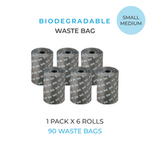 Load image into Gallery viewer, 90x Biodegradable Waste Bags Puppylon™ Pack