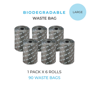 90x Biodegradable Waste Bags Puppylon™ Pack