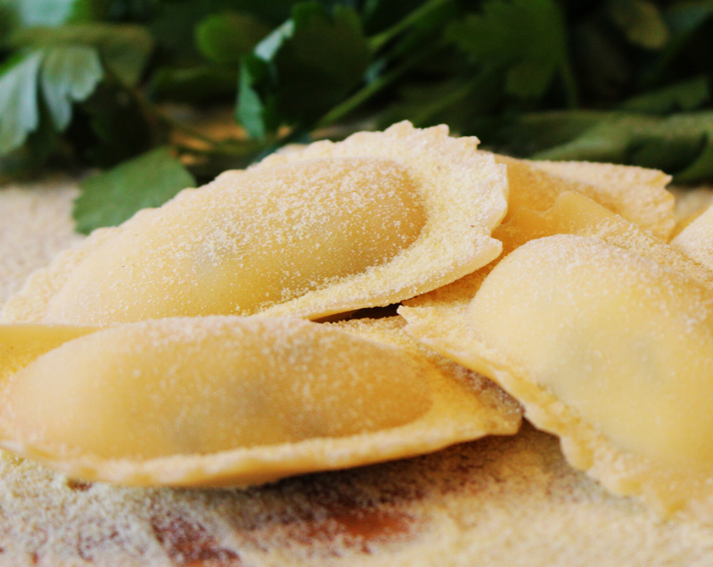 Agnolotti - Available in a variety of fillings - 1kg Bags