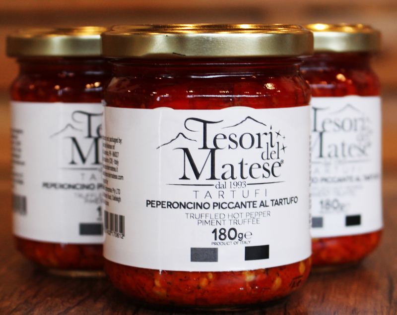 Tesori del Maltese Chilli with Black Truffle Oil - 6 Jars