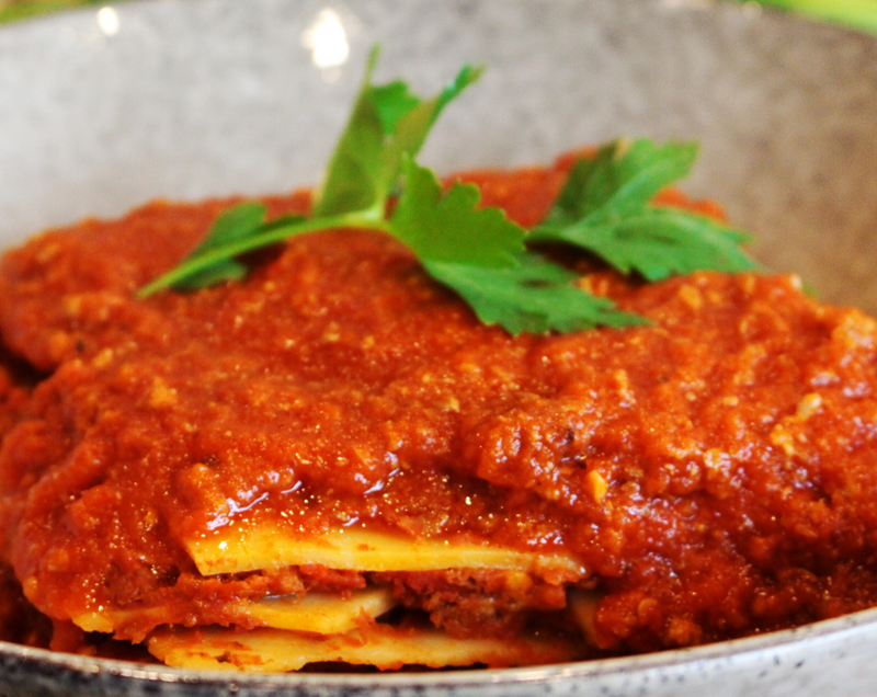 Lasagne (Beef) - Cooked - Individual Serve