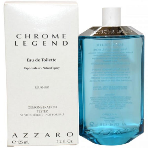 Loris Azzaro Chrome Legend Cologne (M) EDT 4.2 oz (Tester)