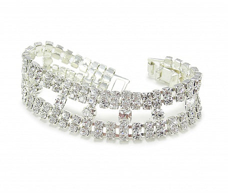 Luxury Inset Bracelet - In Swarovski Crystal