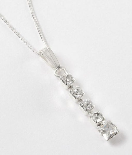 Diamante Square Pendant