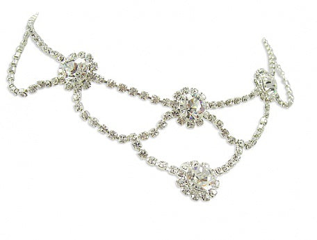 Tiffany Set Crystal Necklace - In Swarovski Crystal