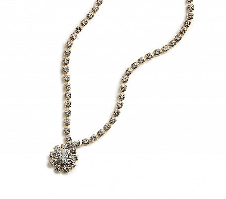 Crystal Tiffany Drop Necklace - In Swarovski Crystal