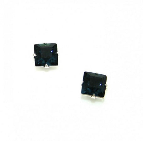 Striking Montana Square Earrings - In Swarovski Crystal