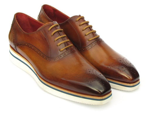 Smart Casual Men's Brown Oxfords
