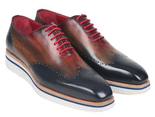 Men's Smart Casual Wingtip Oxfords Multi-color