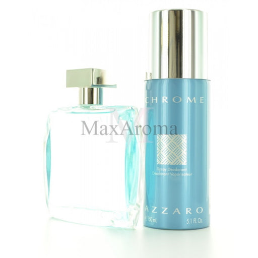 Azzaro Chrome Travel Exclusive Gift Set (M)