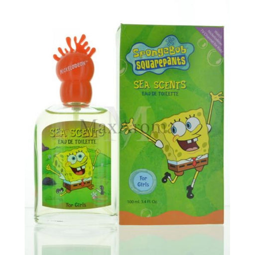 Nickelodeon Squarepants Sea Scents (L) EDT 3.3 oz