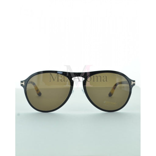 Tom Ford 0525 Bradbury Aviator Sunglasses (M)