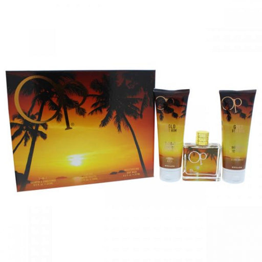 Ocean Pacific Gold Gift Set (M)