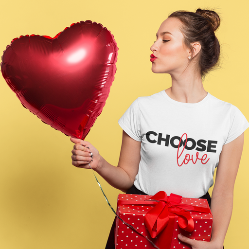 Choose Love Cotton T-Shirt