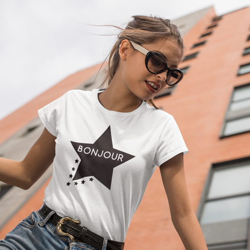 Bonjour Star Cotton T-Shirt