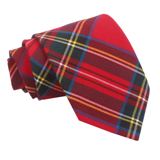 Tartan Classic Tie - Red Royal Stewart
