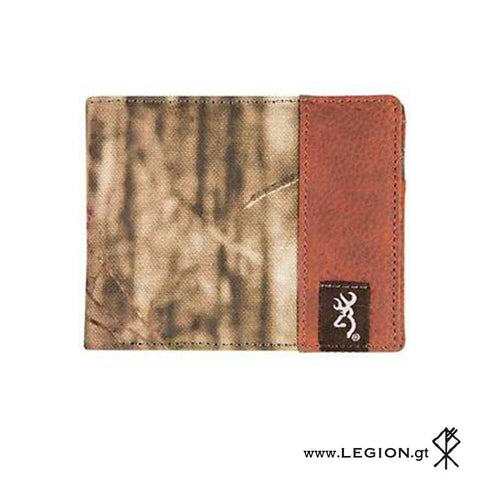 Billetera Canvas Camo Bi-Fold
