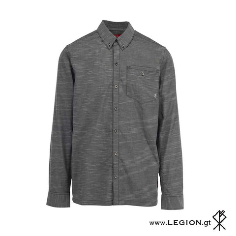 Camisa Sanborn Heather Black