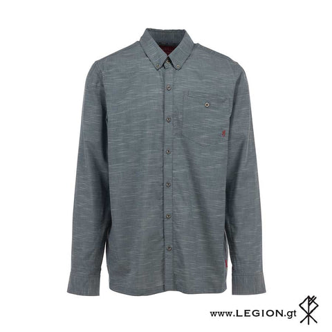 Camisa Sanborn Heather Midnight