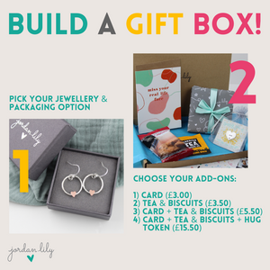 Build a Gift Box | Add Tea & Biscuits + Card