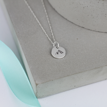 Load image into Gallery viewer, Mountain Silver Necklace