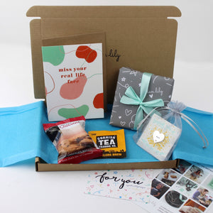Build a Gift Box | Add Tea & Biscuits + Card + Hug Token