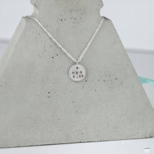 Load image into Gallery viewer, Personalised Bible Verse Necklace