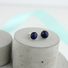 Load image into Gallery viewer, Lapis Lazuli Studs