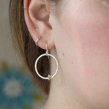 Load image into Gallery viewer, Star and Moon Drop Earrings