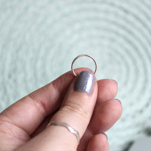 Smooth Midi Knuckle Ring