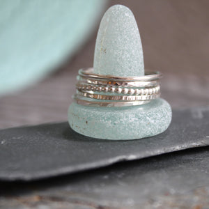 Set of Skinny Stacking Rings