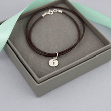 Load image into Gallery viewer, Pine Tree Leather Bracelet