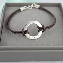 Load image into Gallery viewer, Personalised Washer Bracelet