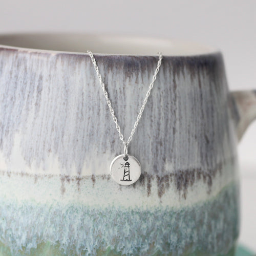 Lighthouse Silver Necklace