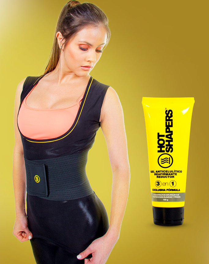 Combo Termoflex chaleco mujer + instant training + gel