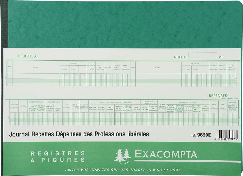 Brochure Journal Professions Libérales EXACOMPTA ® 8