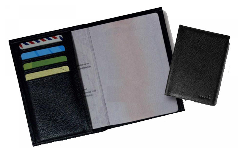 Porte-Documents / Porte cartes anti RFID. Protection cartes de paiement sans contact