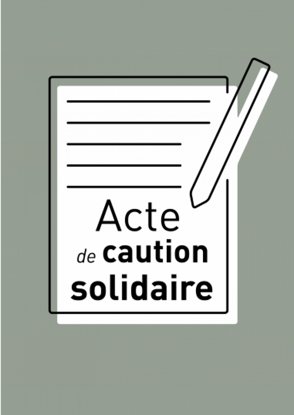 Acte de Caution Solidaire 1