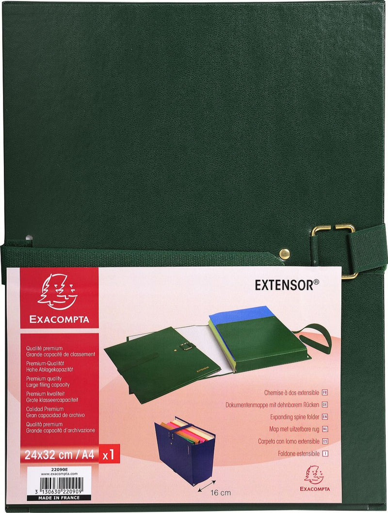 Chemise dos extensible Extensor EXACOMPTA ® 26